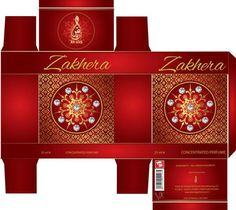 Oriental Arabic Perfumes Bottel Box
