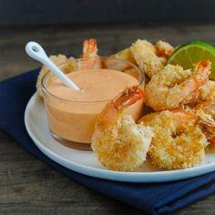 Baked Coconut Shrimp HealthyAperture.com