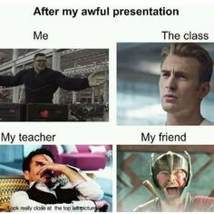 Realm of Marvel - I love you memes -You can find Funny school and more on our website.Realm of Marvel - I love you memes - Avengers Humor, Marvel Jokes, Funny Marvel Memes, Funny School Memes, Dc Memes, Crazy Funny Memes, Really Funny Memes, Stupid Memes, Funny Relatable Memes