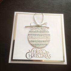 Christmas music bauble