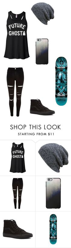 """Untitled #99"" by darksoul7 on Polyvore featuring River Island, Casetify, Vans and Darkstar"