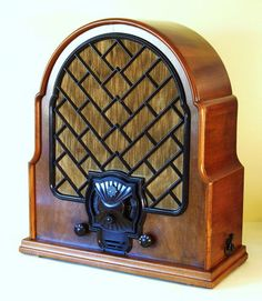 telefunken art deco radio
