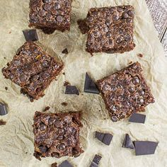 Super saftige Zucchini-Brownies mit Chocolate Chips