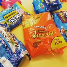 Sweet treats in the canteen! #candy #sweets #chocolate #reeses #reesespeanutbuttercups #jollyrancher #jollyranchers #almondjoy #analox #stokesley