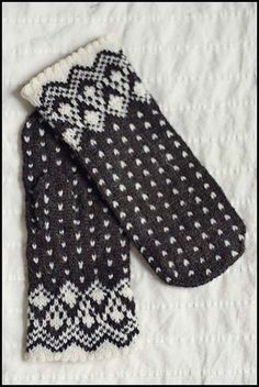 Northlight Mittens - Brooklyn Tweed