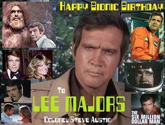 Happy birthday //  Lee Majors [76]