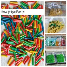 how to dye pasta and what to do with it
