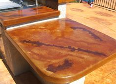 Concrete Acid Staining - Flagstone, Masonry Contractor, Kitchen Counter Top, Kitchen Designs