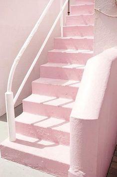 Pink staircase #wanderlust