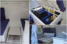 Bett selbst machen für Campingmobil