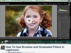 How to use Lightroom Brushes and Graduated Filters + BONUS cheat sheet!