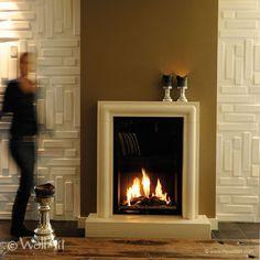 Pannelli tridimensionali wallart bricks dal design moderno ed accattivante confezione da mq.3.