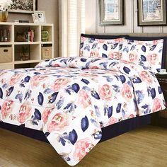Nala Floral 8-Piece King Comforter Set