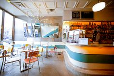Bowery Diner Restaurant interior design by Joseph Foglia Designs