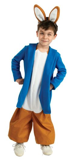 but benj, and not heavy material Peter Rabbit Costume, Bunny Costume, Costume Dress, Unique Halloween Costumes, Halloween Kids, Halloween Birthday, Birthday Ideas, Toddler Costumes, Boy Costumes