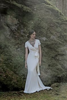 Isis Gown - if I was getting married now, I would probably wear this gorgeous, simple, stunning number.