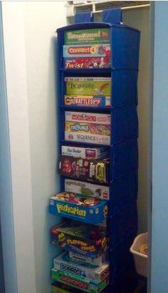 Organize games