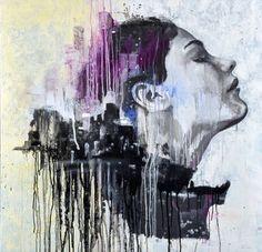 """Saatchi Art Artist matteo cattonar; Painting, """"Beautiful reflection"""" #art"""