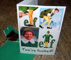 The Halquist Family...: Buddy the Elf, What's Your Favorite Color?