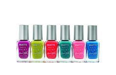 Summer Matte Nail Paint Collection