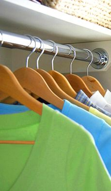 Step-by-step Closet Cleaning Tips to help you avoid three things that can damage your clothes — dust, mildew and moths. #home #organization #closet