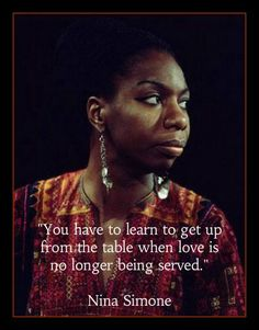 Fridge Magnet singer Nina Simone quote Get up from the by Vividiom, $3.50