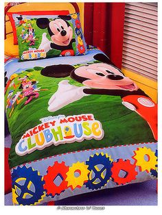 Mickey Mouse Bedding by charactersntoons.com, via Flickr