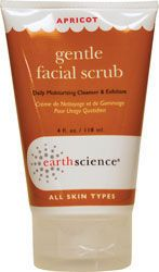 Earth Science Apricot Gentle Facial Scrub