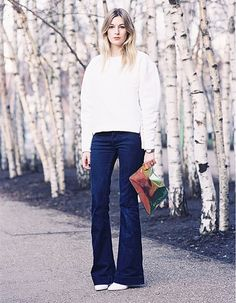 Trend: Flared Jeans - Fashionscene.nl