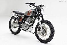 VOROMV: Yamaha SR400 Scrambler por Palhegyi Design. Siguen las bellas preparaciones de la clásica monocilíndrica