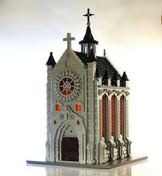 Gothic chapel | by Lego_fan
