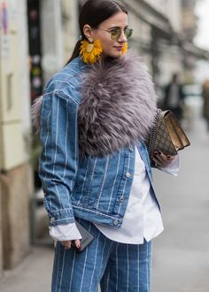 e21415ae2c41 The Best Street Style Looks From Milan Fashion Week Fall 2017