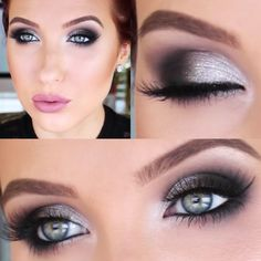 Grey Bombshell Smokey Eye, This Suits Every Single Girl, No Matter How Old- 16 or 66