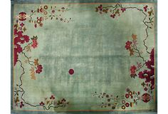 Chinese Art Deco Rug, 12' x 9' on OneKingsLane.com