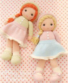 Вязаные куклы спицами с описанием и фото, подробный мастер класс. Материалы для вязания куклы спицами. Примечания к описанию вязания кукол спицами.
