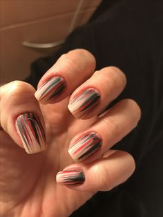 Red black Red Black, My Nails
