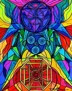 Arcturian Conjunction Grid - Frequency Paintings - Teal Swan