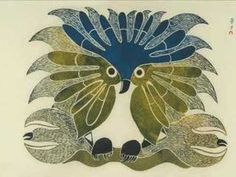 Waddingtons Inuit Art - Kenojuak Ashevak, Night Hunter