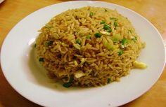 receta arroz chaufa de pollo, chifa, comida china, pollo