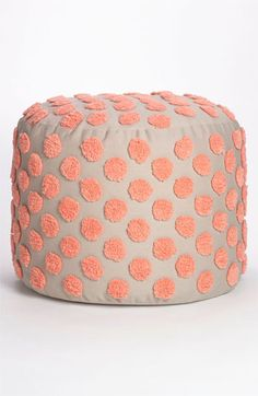 Nordstrom+at+Home+'Tufted+Spots'+Pouf+available+at+#Nordstrom