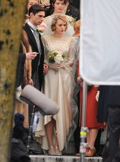 Blake Lively filming The Age of Adaline