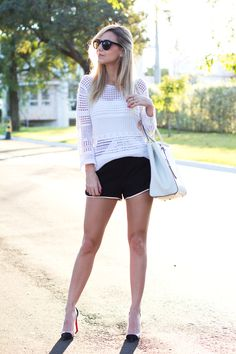 Look – Black and White