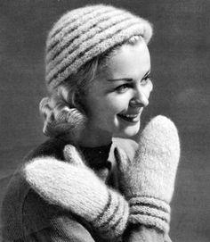 Free Vintage Knitting Pattern by Nostalgia Rules, via Flickr
