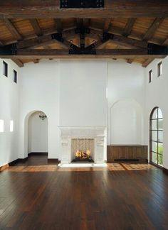 Arched doorways and window
