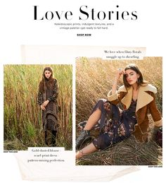 Romantic Boho Clothing, Shoes & Accessories Fall 2016 Lookbook | SHOPBOP