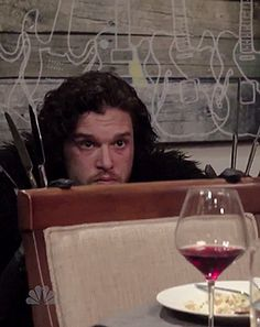 Jon Snow Is the Worst Dinner Guest Ever: Funny Video - Us Weekly