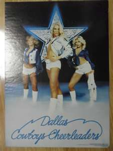 dallas cowboys cheerleaders chase had to have these on his board lol