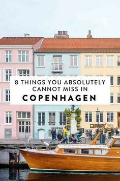 8 things you cannot miss in Copenhagen, including an amusement park (Tivoli), a delicious brunch spot in Vesterbro, and more!