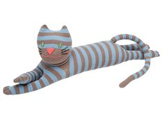 HickUps Sockenkatze blau beige