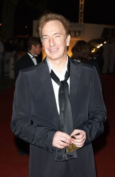 October 2002 Celebration of the National Film Theater's anniversary in London, England Alan Rickman Severus Snape, Ares, Harry Potter Characters, Half Blood, Best Actor, A Good Man, Portrait, Beautiful Men, Celebs